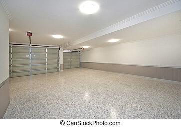 Garage - Two door garage with electronic roller doors