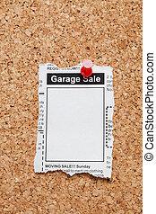 garage udsalg