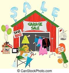 garagem, sale!