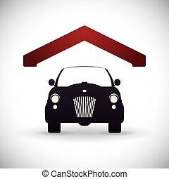garaje, diseño