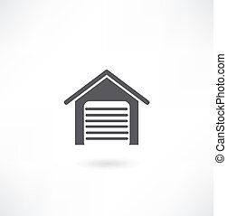 garaje, icono
