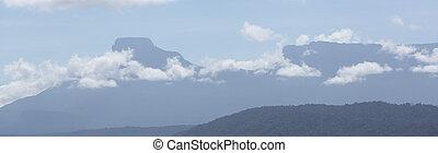 garam, sabana, vidék, -ban, canaima nemzeti dísztér, venezuela