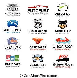 garanti, automobilen, konstruktion, deal