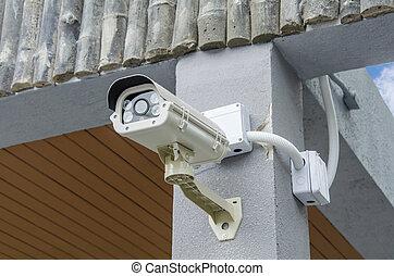 garanti, cctv kamera, og, urban, video