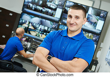 garanti, opsigt video, chef