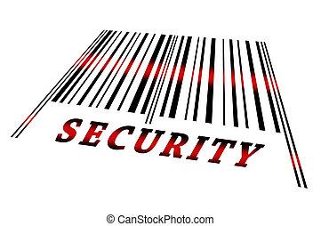 garanti, på, barcode