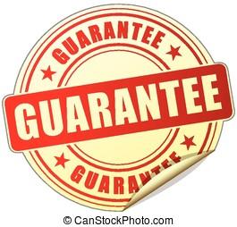 garantia, etiqueta