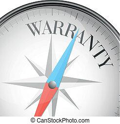 garantie, kompas