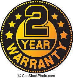 garantie, warranty), (two, 2, jaar