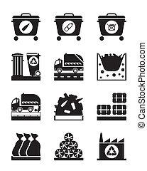 garbag, verwerking, verzameling