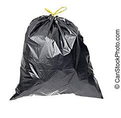 garbage bag trash waste