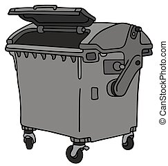 Garbage container