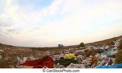 garbage dump waste food overall plan nature of the pollution...