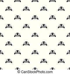 Garbage pattern vector seamless