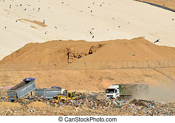 Garbage Recycling Center - SOUTH ISRAEL, NOVEMBER 1, 2011....