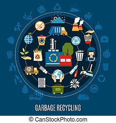 Garbage Removal Round Composition