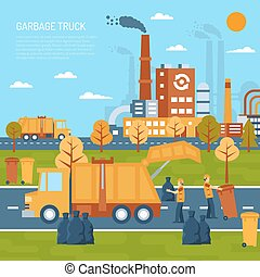 Garbage Truck Concept