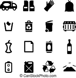 Garbageman Icons - This image is a illustration and can be...