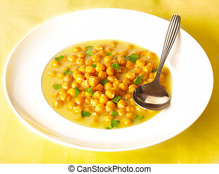garbanzo beans soup      - chickpea soup