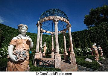 garcebo, sculture