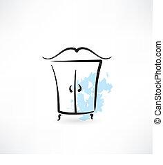 garde-robe, icône