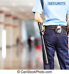 garde sécurité