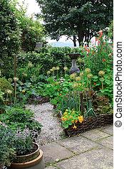 garden., été, perpétuel