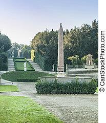 Garden at Palazzo Pitti