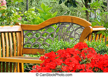 garden bench 01