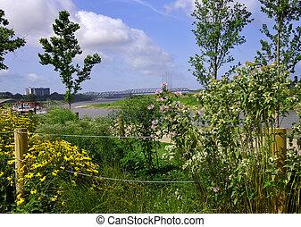 Garden Frames Mississippi Riverfront