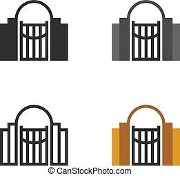 Garden gateway icons