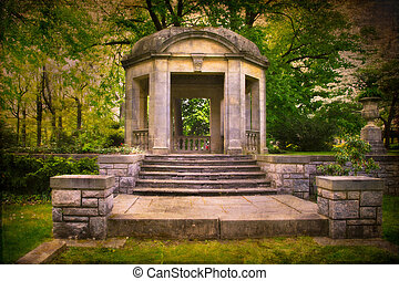 Stone Gazebo Stock Photos And Images 643 Pictures