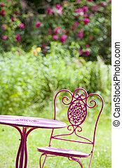 Garden idyll