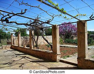 Spanish Villa Courtyard