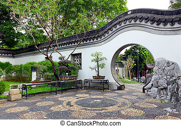 garden in chinese style