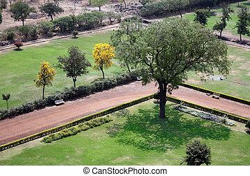 Garden in Fort