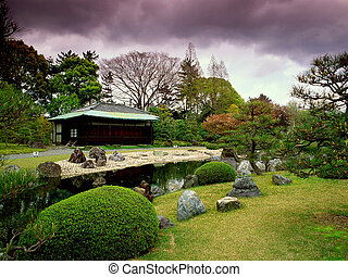 Garden in Japan