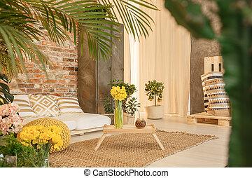 Garden in room