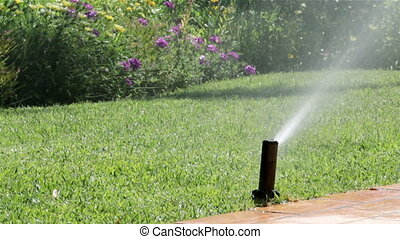 Garden Irrigation Sprinkler H - Garden automatic Irrigation...
