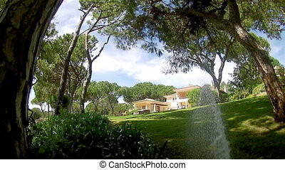 Garden Irrigation Sprinkler POV D