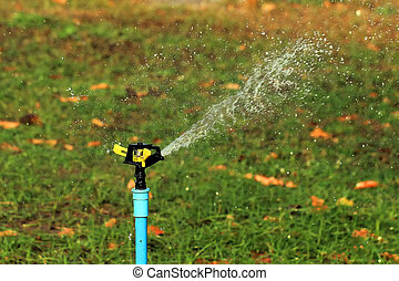 Garden irrigation system  or watering sprinkler