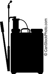 Garden knapsack pressure sprayer - Garden knapsack...