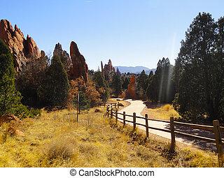 Garden od Gods, Colorado Springs - The Garden od Gods,...