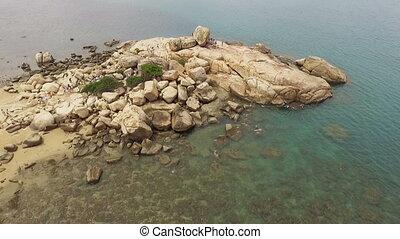 Garden of stones in Vietnam, Nha Trang - Garden of stones,...
