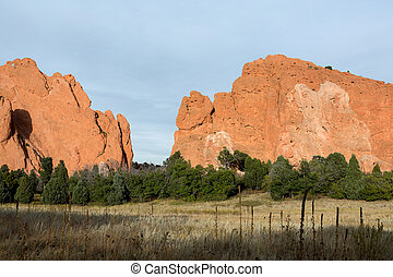 Garden of the gods, Colorado - Garden of the gods national...