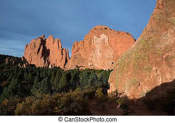 Garden of the gods, Colorado - Garden of the gods national...