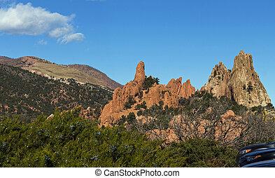 Garden of the gods colorado springs - The Garden of the Gods...