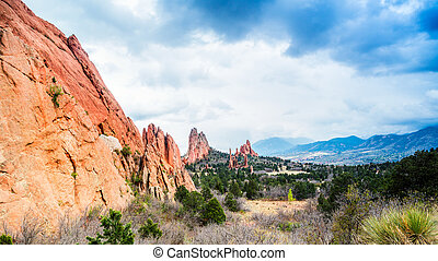 Garden of the Gods. - Garden of the Gods Natural Park,...