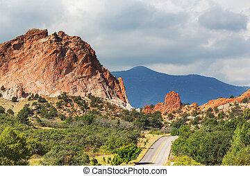 Garden of the gods - Garden of the Gods park in Colorado