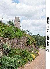 Garden on a wine farm near Stellenbosch